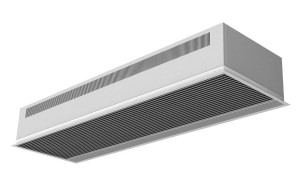 Recessed DAM Air Curtain